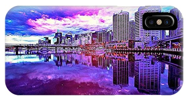 Cool iPhone Case - Darling Harbour Is A Harbour Adjacent by Tommy Tjahjono