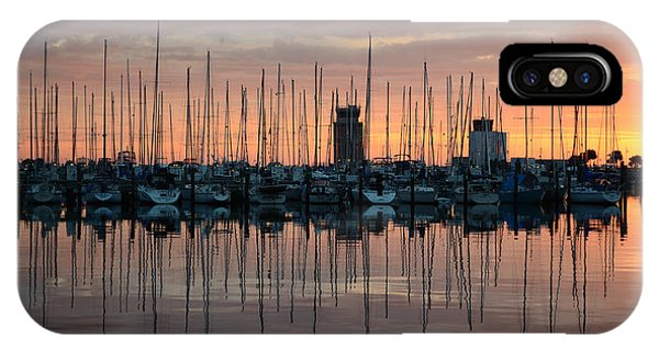 Dawn At The Marina IPhone Case