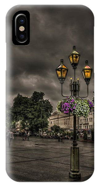 Dark Clouds iPhone Case - Days Of Thunder by Evelina Kremsdorf
