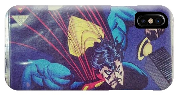 Superhero iPhone Case - #dccomics #superman by Melissa Wyatt