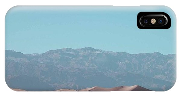 Death Valley iPhone Case - Death Valley Dunes by Naxart Studio