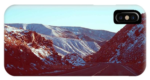 Death Valley iPhone Case - Death Valley Road by Naxart Studio