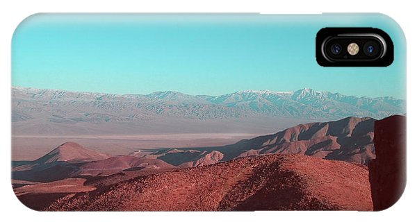 Death Valley iPhone Case - Death Valley View 1 by Naxart Studio