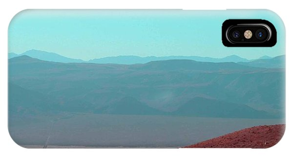 Death Valley iPhone Case - Death Valley View 2 by Naxart Studio