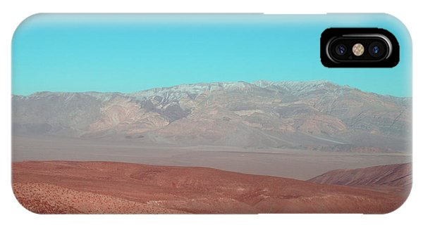 Death Valley iPhone Case - Death Valley View 3 by Naxart Studio