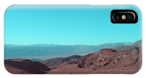 Death Valley iPhone Case - Death Valley View by Naxart Studio