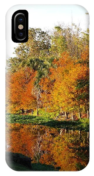 IPhone Case featuring the photograph December Morn On Deerfield Creek by Judy Hall-Folde