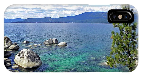 Deep Waters Lake Tahoe IPhone Case