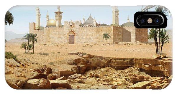 Desert City IPhone Case