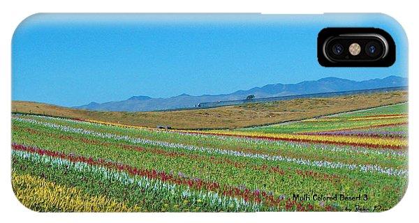 Desert Colors 3 Phone Case by Jean Paul LeBlanc