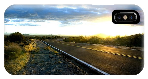 Desert Highway IPhone Case
