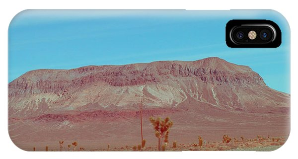 Death Valley iPhone Case - Desert Mountain by Naxart Studio