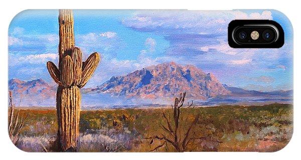 Desert Scene 4 IPhone Case