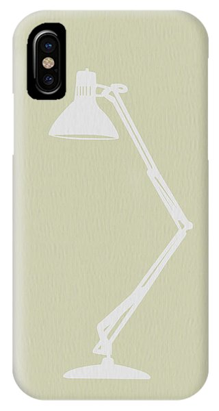 Table iPhone Case - Desk Lamp by Naxart Studio