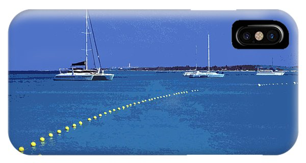 Sonne iPhone Case - Destination Aua ... by Juergen Weiss
