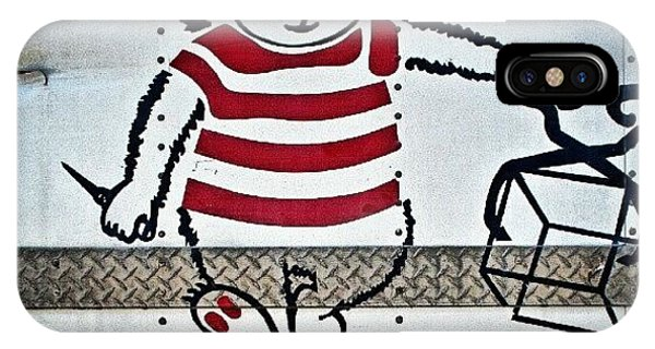 Cartoon iPhone Case - Detail From My Photograph Titled, ice by Troy Thomas