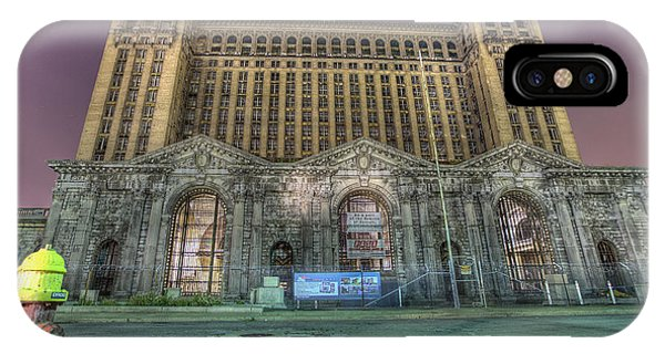 Detroit's Michigan Central Station - Michigan Central Depot IPhone Case