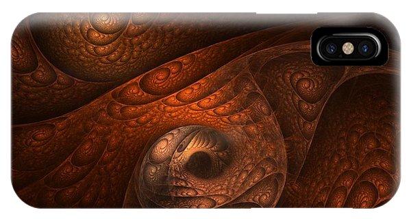 Minotaur iPhone Case - Developing Minotaur by Lourry Legarde