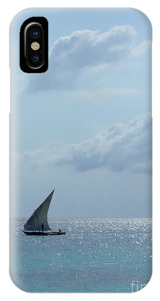 Dhow Phone Case by Alan Clifford