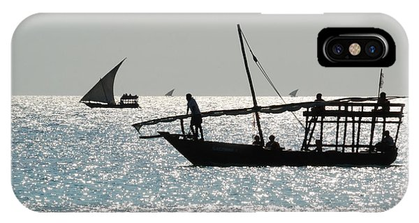 Dhows Phone Case by Alan Clifford