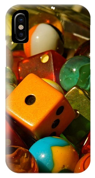 Dice And Marbles IPhone Case