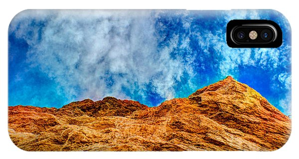 Dirt Mound And More Sky IPhone Case