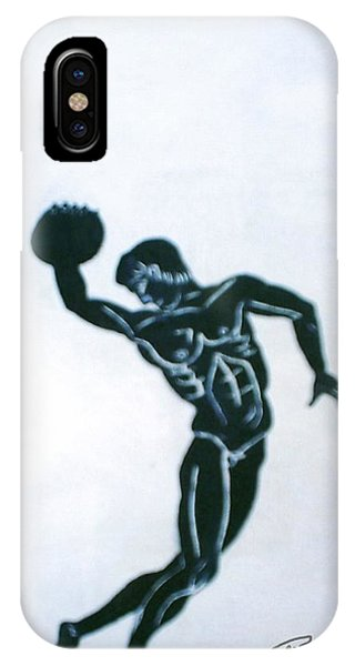 Disc Thrower IPhone Case