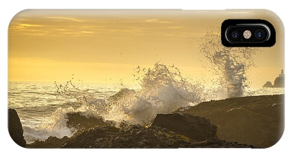 Stop Action iPhone Case - Distant Light by Jean Noren