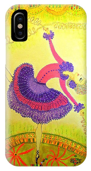 Dna Dancer IPhone Case