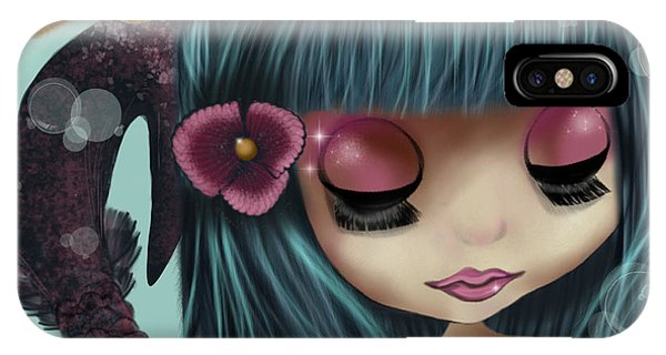 Doll From The Sea IPhone Case