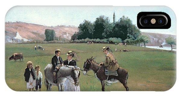 Donkey Ride IPhone Case