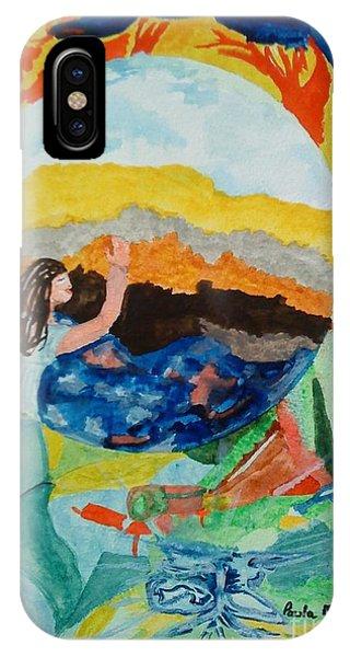 Doodlewat13 Babylon IPhone Case