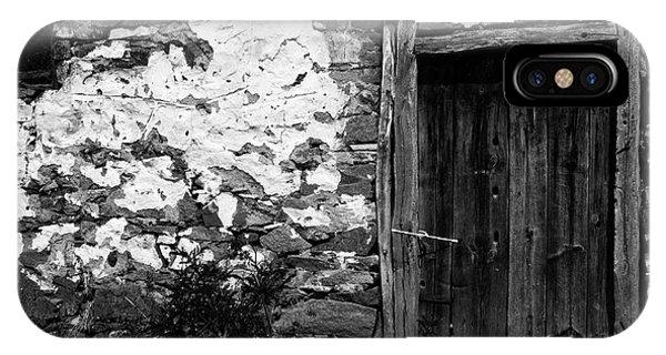 Door  Window And The Wall  IPhone Case