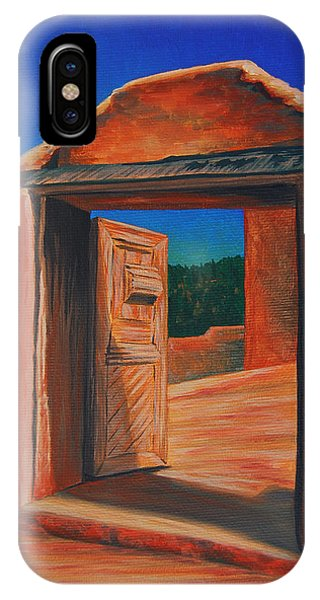 Doorway To Las Trampas IPhone Case