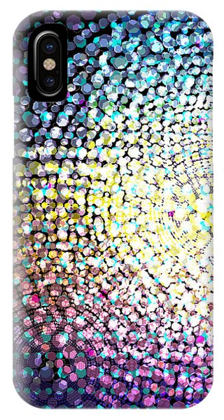 Astral iPhone Case - Dots Colors by Atiketta Sangasaeng