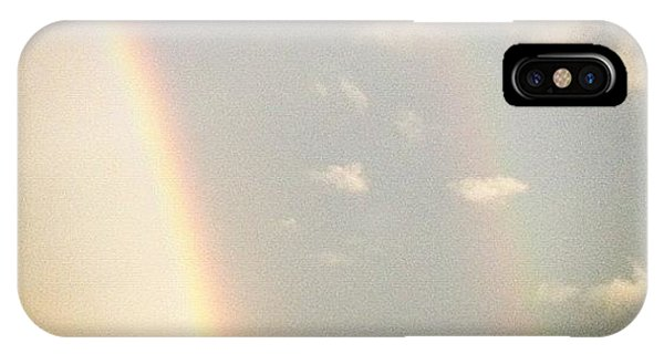 View iPhone Case - Double Rainbow.  by Lea Ward