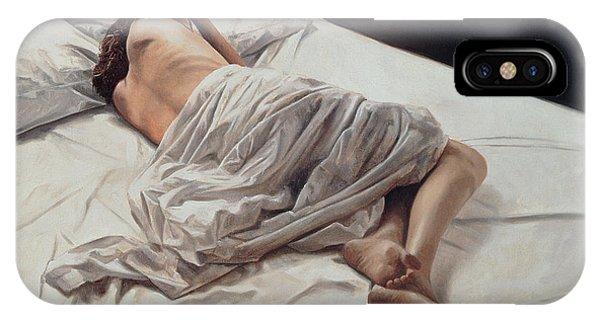 Sleeper iPhone Case - Drifting  by John Worthington