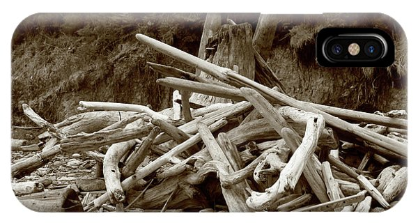 Driftwood Pile San Juan IPhone Case