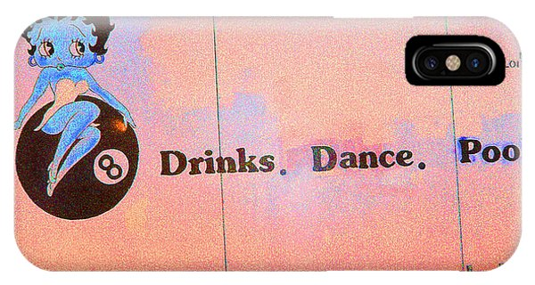 Drink Dance Pool IPhone Case