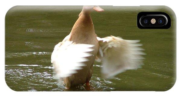 Duck Flapper IPhone Case