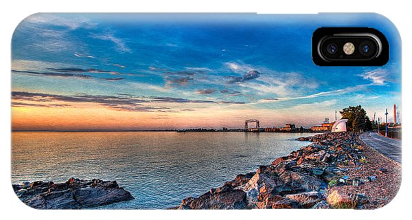 Duluth Harbor IPhone Case