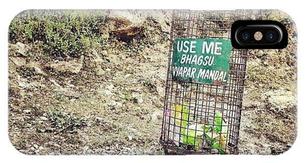 Cause iPhone Case - #dustbin #garbage #clean #dump by Sahil Gupta