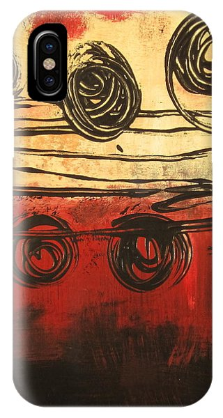 Dynamic Red 3 IPhone Case