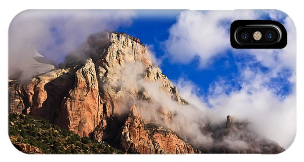Early Morning Zion National Park IPhone Case
