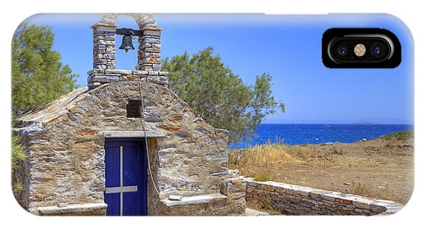 Greece iPhone Case - east coast Naxos by Joana Kruse