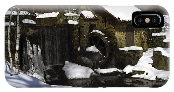 Eastern University Waterwheel Historic Place IPhone Case
