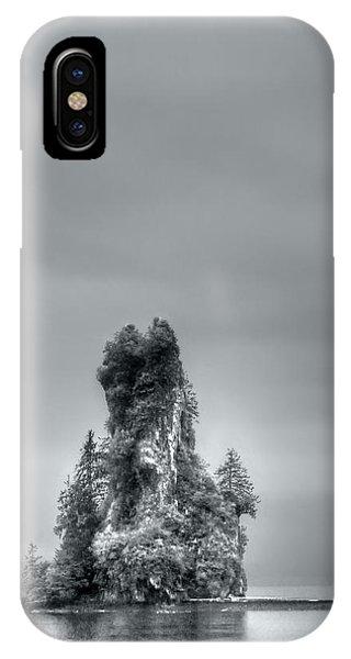 Eddystone Rock Misty Fjords National Monument Alaska IPhone Case