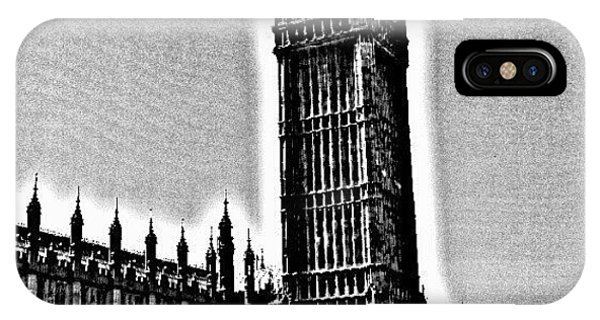 Classic iPhone Case - Edited Photo, May 2012 | #london by Abdelrahman Alawwad