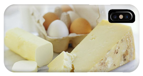 Eggs And Cheese Phone Case by David Munns