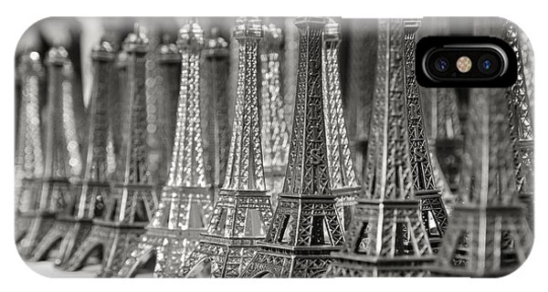 Eiffel Tower Miniature IPhone Case